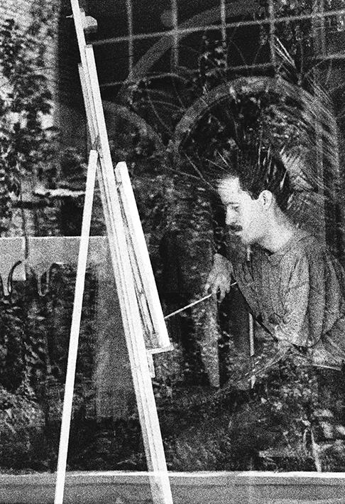Aref Zandmiralvand - Painter