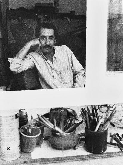 Ebrahim Haghighi - Graphic designer, Painter