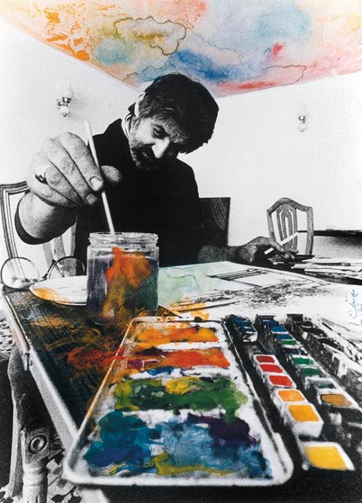 Siyavosh Kasrai - Painter